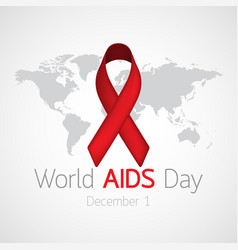 World aids day icon vector