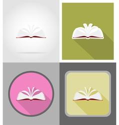 School education flat icons 11 vector