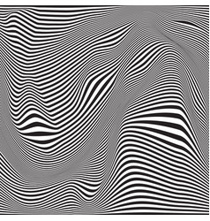 abstract seamless ripple pattern repeating vector image vector image