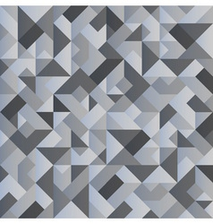 Monochrome geometric background vector image