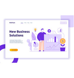 Business and finance design concept vector