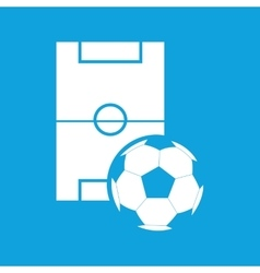 Football icon simple vector image
