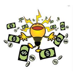 idea make money vector image vector image