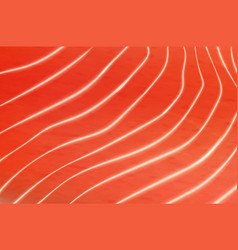 Salmon or trout fish meat texture vector