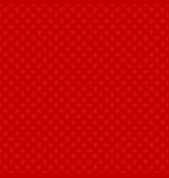 seamless retro geometric snowflake pattern vector image