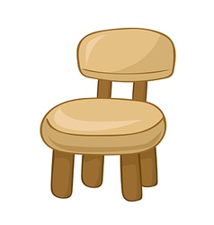 wooden Chair vector image