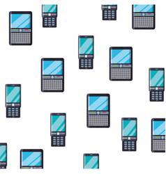 cellphone mobile technology vector image