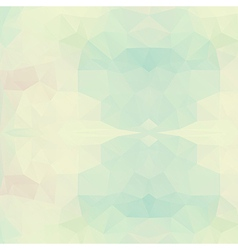 Abstract triangle geometric background vector image vector image