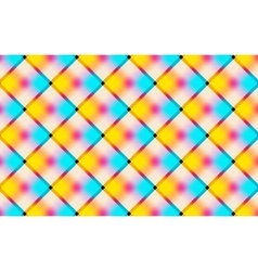 Abstract vibrant background with squares vector image vector image