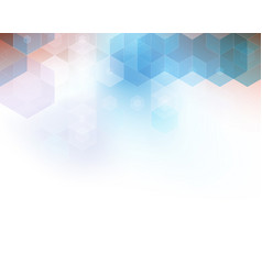 abstract geometric background template brochure vector image