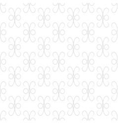 abstract gray seamless pattern vector image