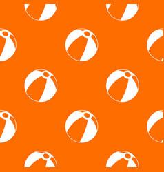 beach ball pattern seamless vector image