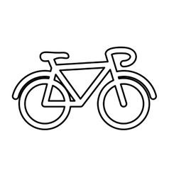 Bicycle cyclism sport vector