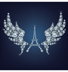 pray for Paris 13 November 2015 vector image