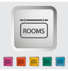 Rooms vector image