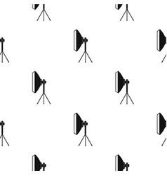 Spotlight pattern flat vector