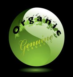 gel organics vector image vector image