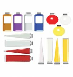 product tubes vector image