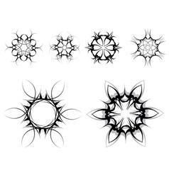 gothic style symbols vector image