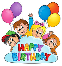 Happy birthday topic image 5 vector