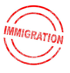 Immigration vector