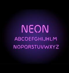 neon glowing arrow pointer vector image