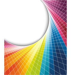 Rainbow colorful background vector