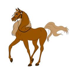Rgb horse vector