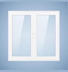 White plastic window vector