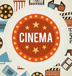 cinema film vector image vector image