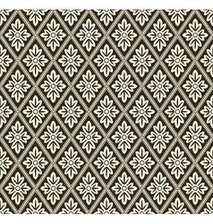 Decorative geometric pattern vector image vector image