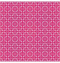 Weaving pink pattern vector image