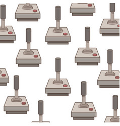 Consoe joystick background vector