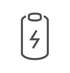 electric car battery icon vector image
