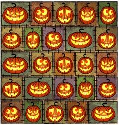Halloween shabbackground vector
