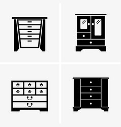 jewelry boxes vector image