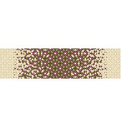 Rich luxury arab pattern geometric vector