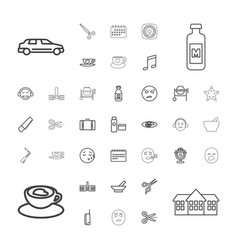 37 clipart icons vector