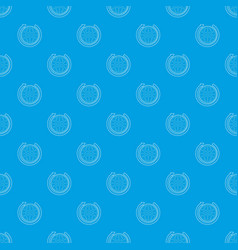 earth pattern seamless blue vector image