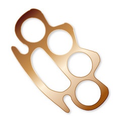 Knuckle duster vector
