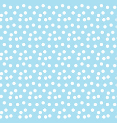 light blue background random scattered dots vector image