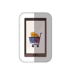 Marketing and shopping online vector