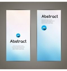 Set colorful geometric banners for innovate vector