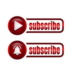 Subscribe button icon business concept subscribe vector