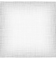 Background With Threads White Gray Linen vector image vector image