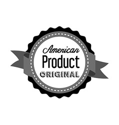 made in usa design vector image