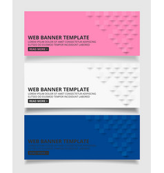 white pink and blue square geometric texture vector image