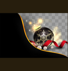 Element for christmas isolate vector