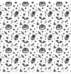 Halloween seamless pattern design for vector