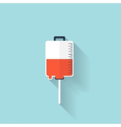 Intravenous therapy system iconMedical dropper vector